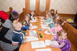 Мелитопольцы рассказали детям о рождении Спасителя мира