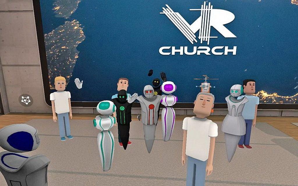Так выглядит виртуальная церковь
