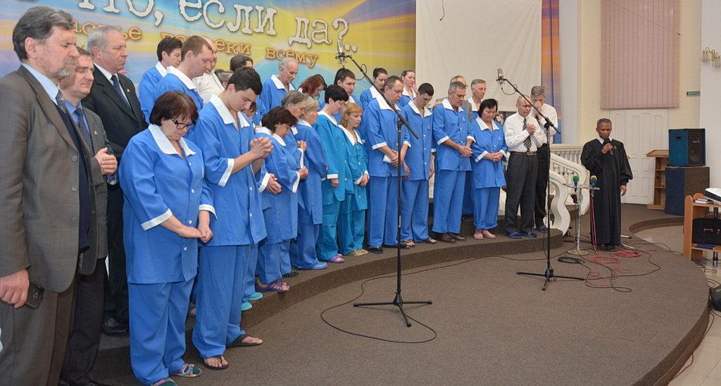 Итогом евангельских инициатив в Кривом Роге стало крещение 23 человек