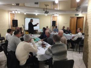 В харьковской церкви заработал клуб для настоящих мужчин