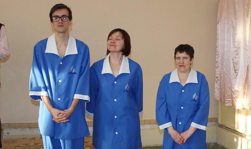 В субботу в Днепре крестились три человека