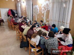 «Українські вечорниці» посетили Синельниковскую общину