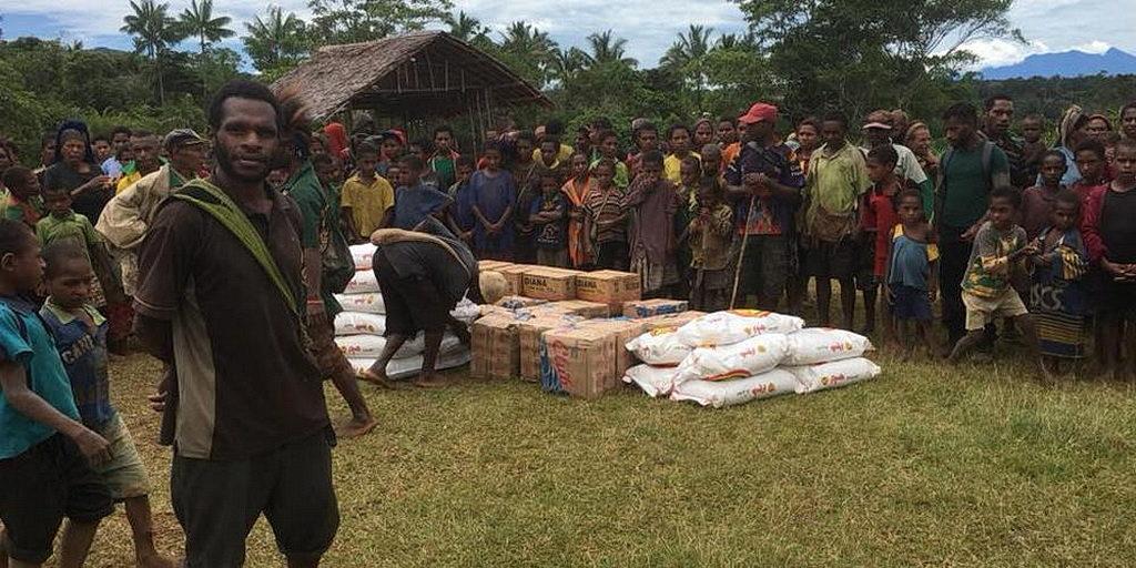 Адвентисты одними из первых отреагировали на землетрясение в Папуа-Новой Гвинее