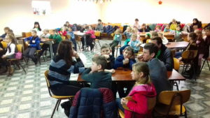 Детская программа в 4 церкви