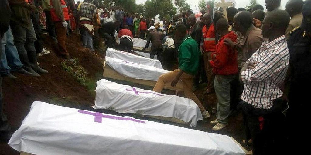 Пятнадцать членов Церкви погибли в Руандийской церкви после удара молнией