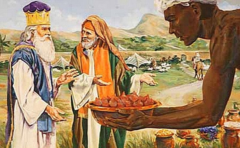 Авраам возвращает десятину Мелхиседеку