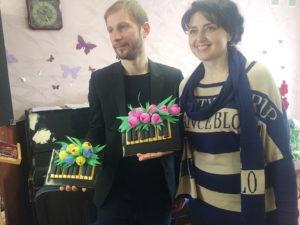 Ярослав Ношин и Наталья Гуменная