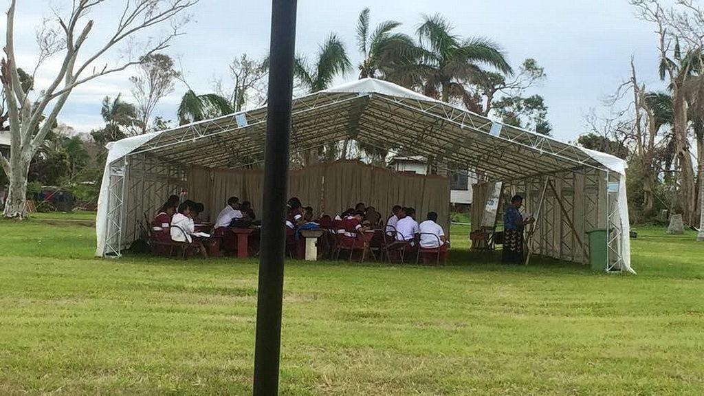 В Колледже Беула проходит урок. [Фото: Adventist Record]