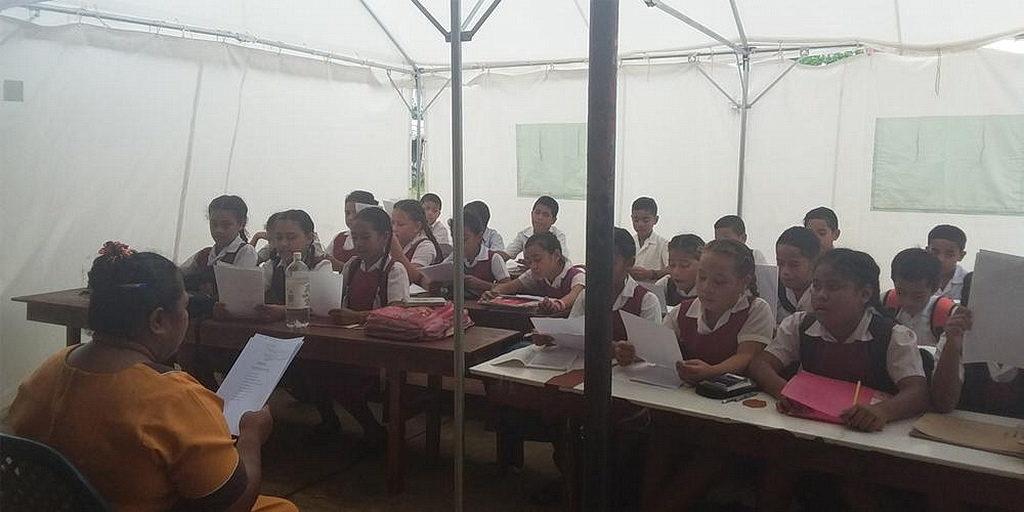 Студенты Тонга столкнулись с трудностями после тропического циклона