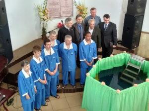 После недели жатвы в Харькове было крещено 6 человек