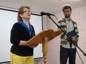 Говорит Евгения Комиссаренко