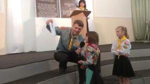 Нікопольські слідопити провели суботнє служіння в громаді