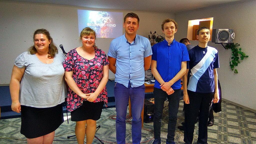 Харьковская молодежь оказалась победителями конференционной молодежной викторины