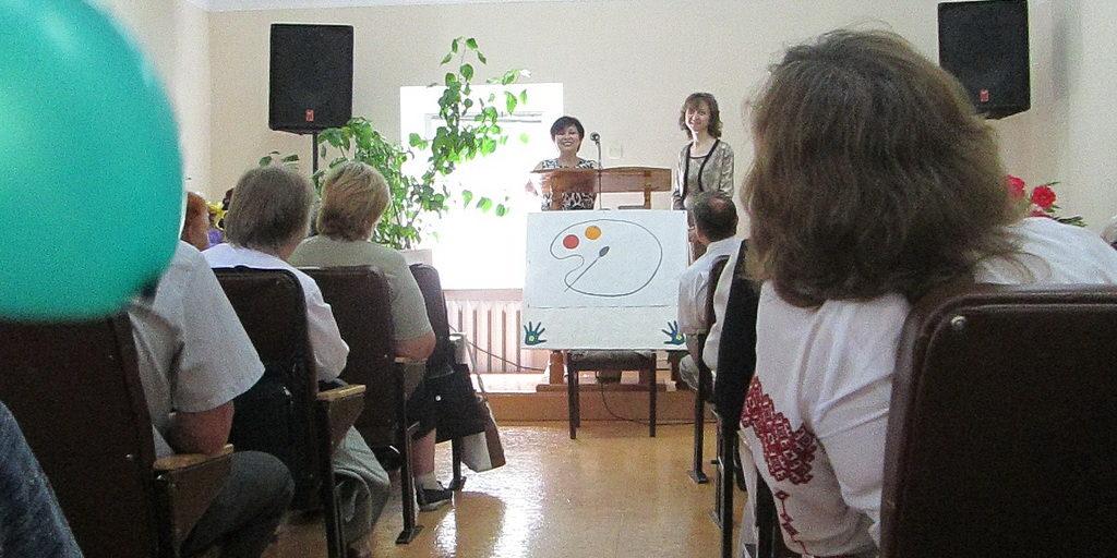 Семейную акварель раскрасили в 7-й общине Днепра