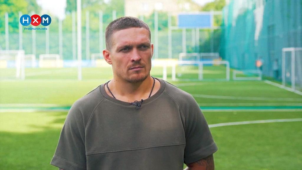Украинский боксер Александр Усик: Я всегда молюсь перед боем
