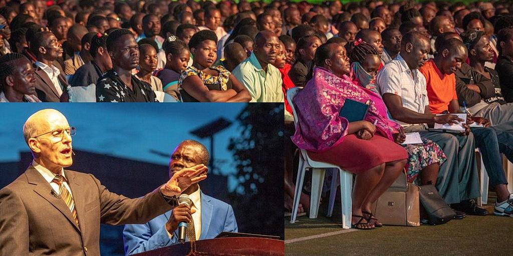 Результатом серии проповедей о пророчествах в Уганде стало крещение 337 человек