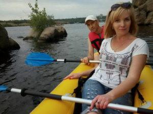 Запорожские адвентисты приглашали запорожцев покататься по Днепру на лодках