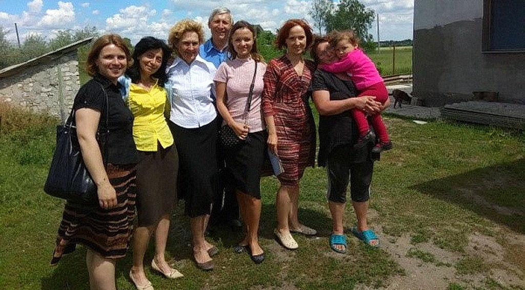 Торжественное богослужение в Горяновском Доме милосердия провели члены второй и шестой Днепровской и Обуховской общин