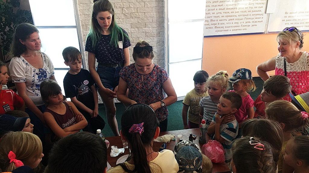 В Каменке-Днепровской прошла Школа супергероев