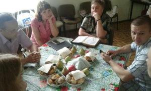 Праздничным служением отметила пятая Запорожская церковь свой день рождения