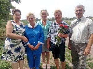 Пятихатская община поздравила новую сестру