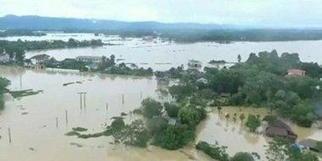 Вид с воздуха на затопленную территорию в Румынии. Команды ADRA оценивают убытки и быстро продвигаются, чтобы помочь пострадавшим семьям. [ADRA Румыния, новости Интер-Европейского дивизиона]