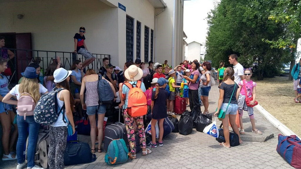 В детском лагере на Арбатской стрелке отдохнуло сто ребят