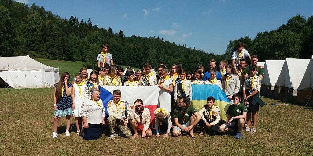 32 Следопыта из Украины побывали на лагере в Чехии