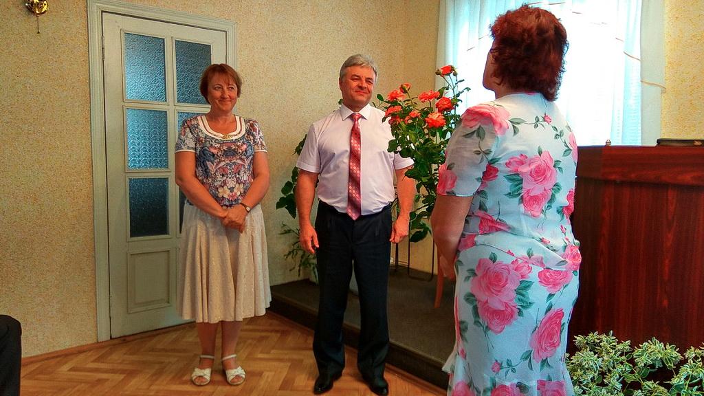 Александр Корниенко представлен на служение в церкви пгт Софиевка