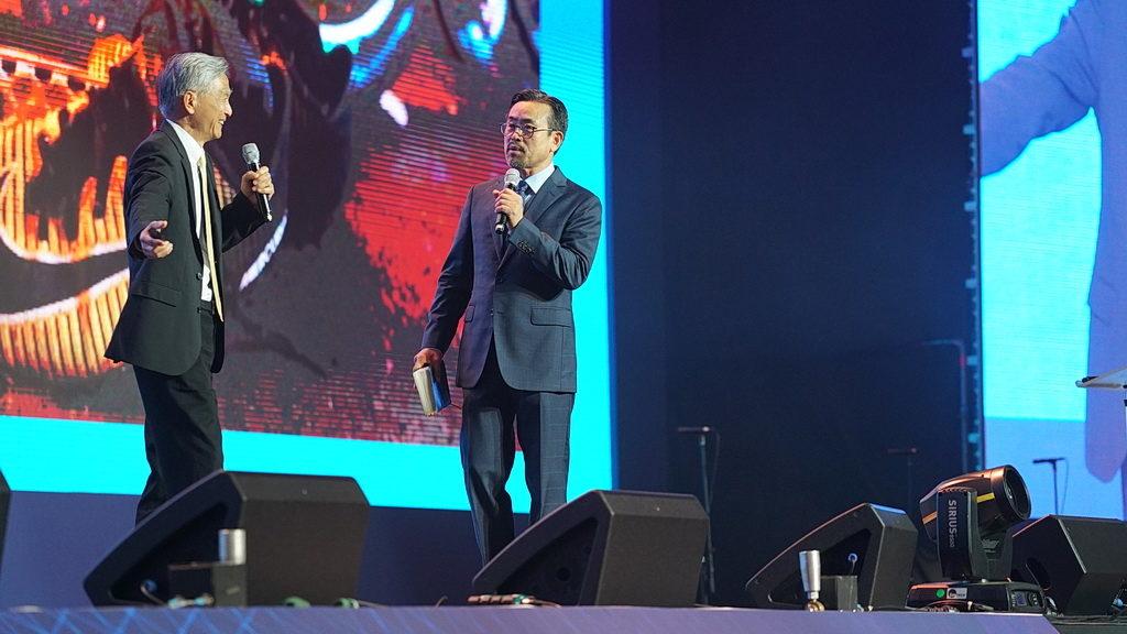 Исполнительный секретарь Церкви адвентистов седьмого дня Г.Т. Нг проповедует на Международном Миссионерском Конгрессе NSD 2018 года в Южной Корее. [Фото: Adventist Review]