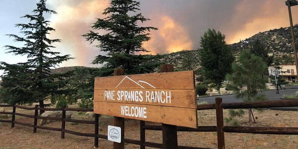 Два адвентистских лагеря эвакуированы из-за Калифорнийского лесного пожара
