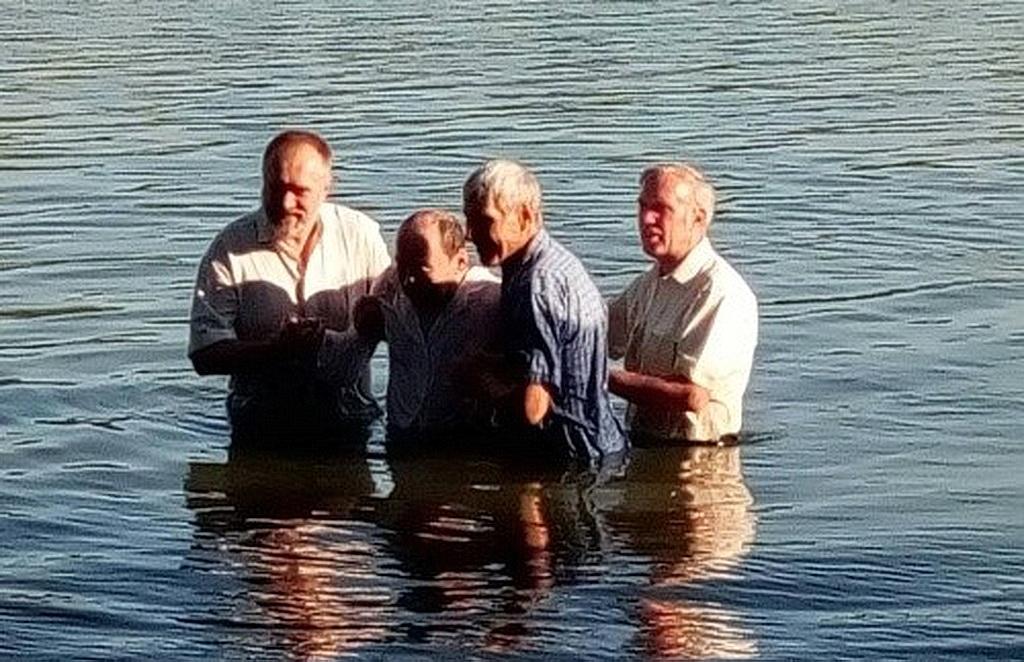 Праздник крещения прошел на берегу Днепра