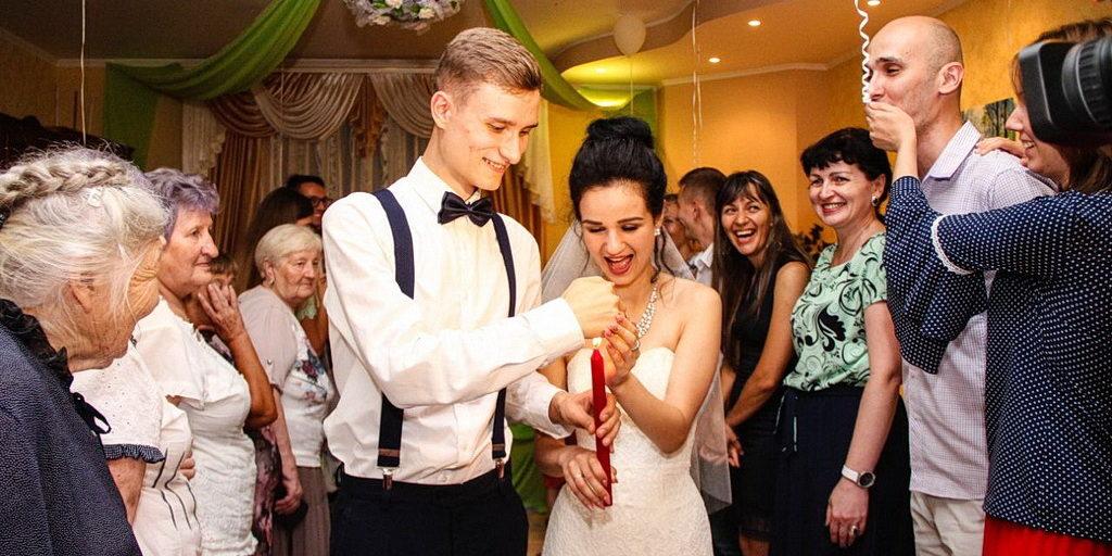 Свадебная церемония в Никополе состоялась на дому