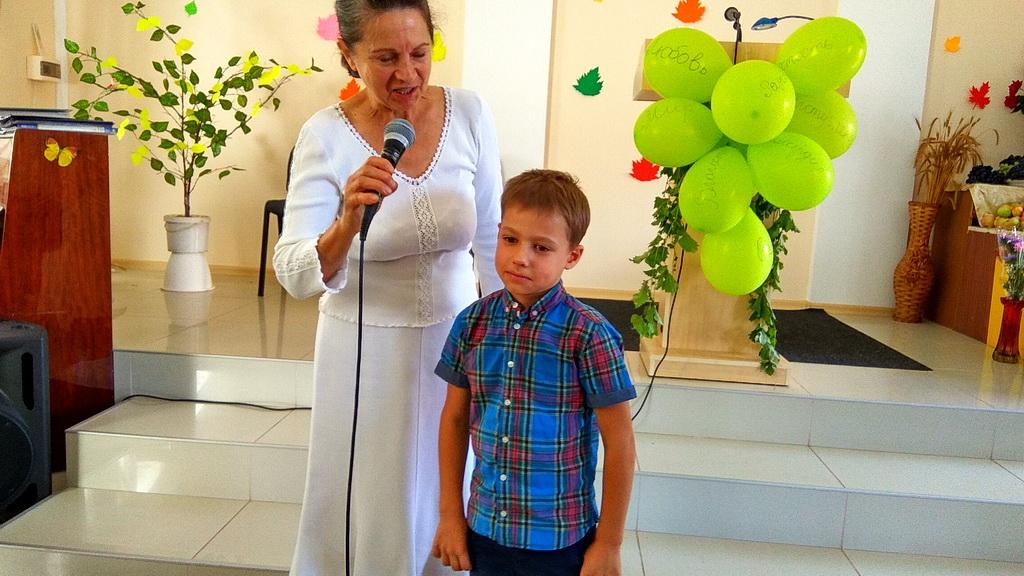 Перед молитвой о первокласснике Яне
