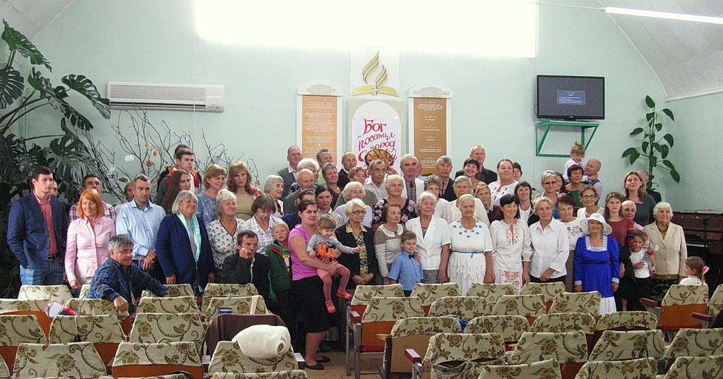 Праздник Жатвы отметили члены нескольких общин в Новомосковске