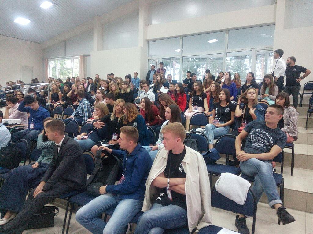 Студенческий форум САС прошел в Украине