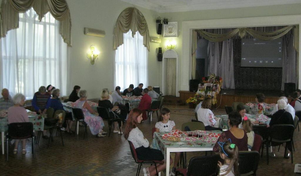 Необычное жатвенное служение провела пятая запорожская община