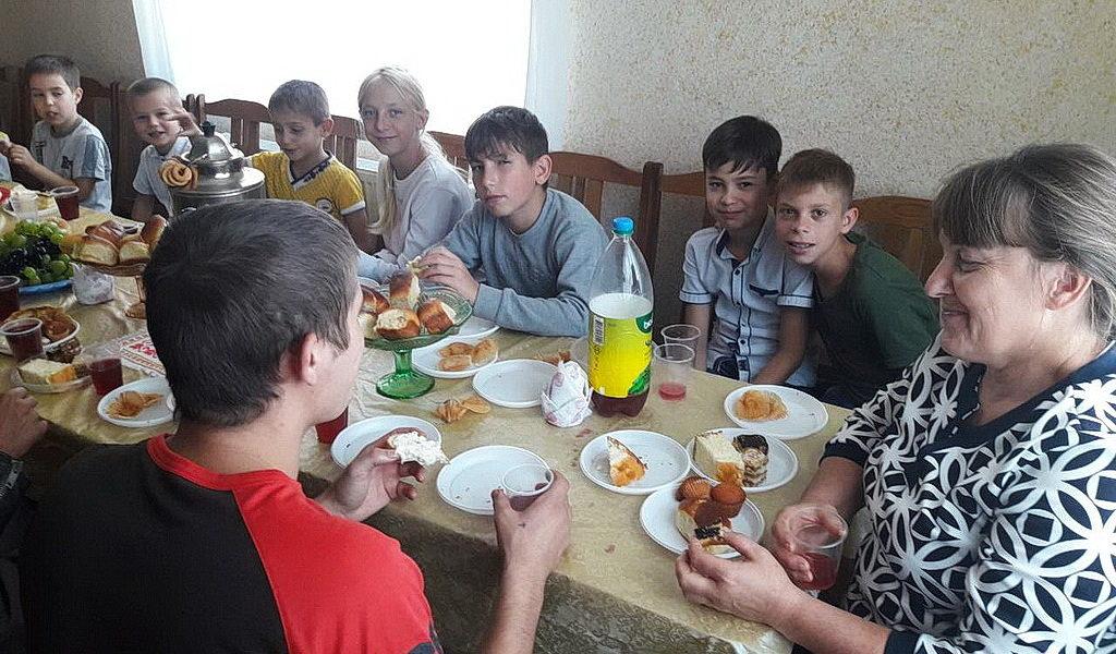 Праздник урожая провела самая молодежная община Кривбасса