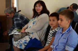 Гости из общины Днепр-1 провели служение в церкви Обуховка