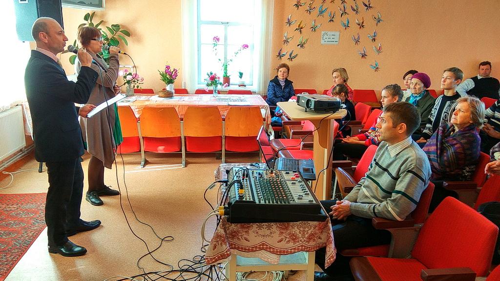 Свое 25-летие отпраздновала церковь в Желтых Водах Днепропетровской области