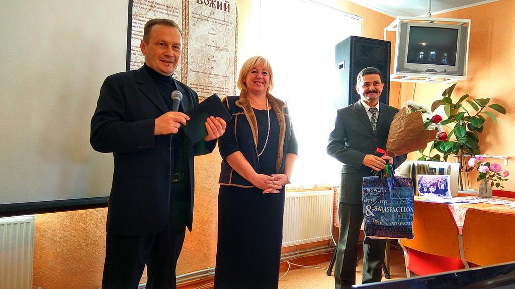 Поздравление пасторов протестантских церквей