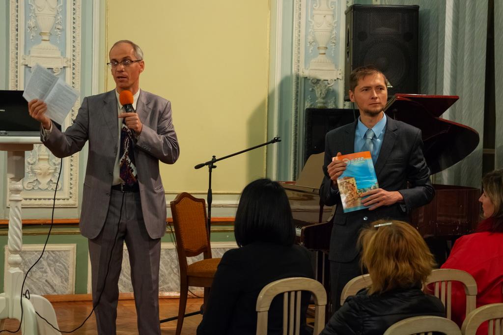 Павел Шимек из Чехии провел в Харькове евангельскую программу
