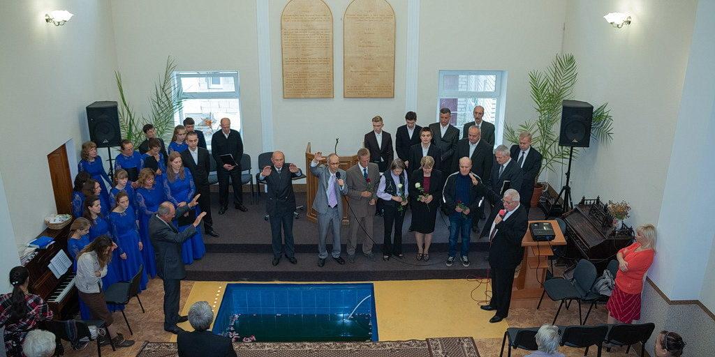 Крещением завершилась вторая программа Павла Шимека