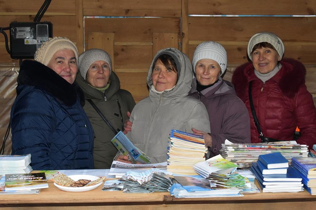 Адвентисты Запорожья предлагали землякам пищу физическую и духовную