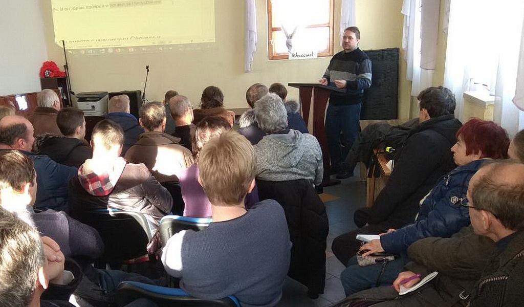 В Днепре прошло обучение служителей слова искусству составления проповеди