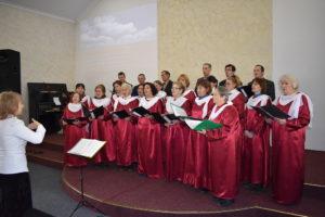 В Запорожье прошло общегородское служение