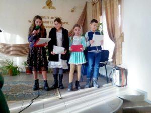 Новогоднее и рождественское служение «Звуки рождества» прошло в молитвенном доме Обуховской общины