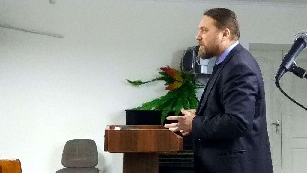 В январе прошло новое занятие для Криворожских пресвитеров и лидеров