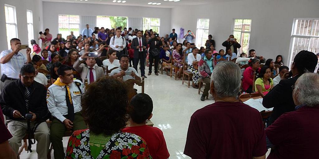 В Мексике студенты завершили строительство церкви для затерянной в джунглях общины