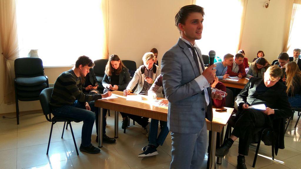 Молодежный лидер Артем Козырь